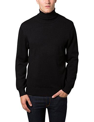 wholesale dealer 6b466 99936 Lower East Herren Pullover mit Rollkragen, in verschiedenen Farben, Gr.  Large, Schwarz