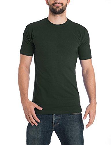 2bade16a34f43a Lower East Men s Mit Rundhalsausschnitt T-Shirt ...