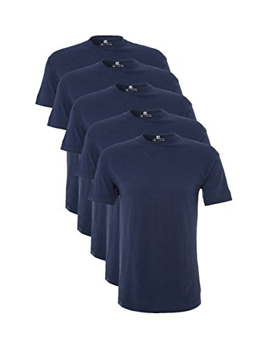 Pacco da 5 Lower East T-Shirt a Maniche Lunghe con Scollo a V